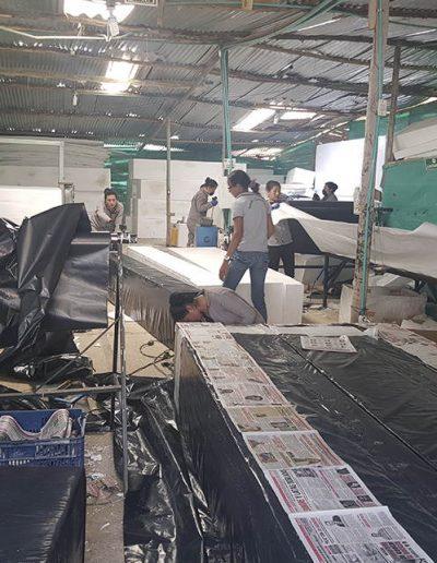 Isopor - Área de producción